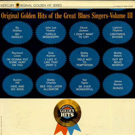 V.A. - Original Golden Hits Of The Great Blues Singers - Volume III