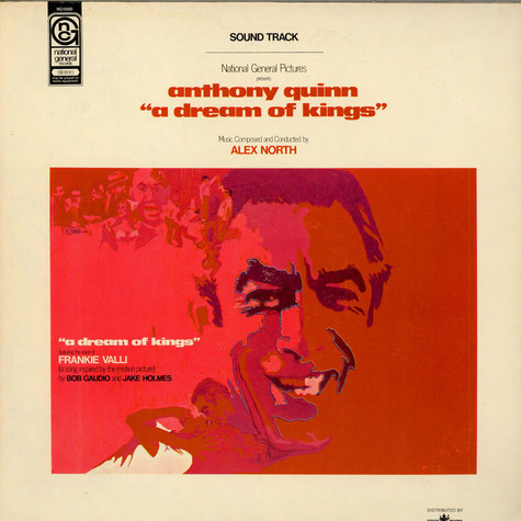 "Alex North - OST Anthony Quinn ""A Dream Of Kings"""