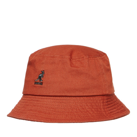 Kangol - Washed Bucket Hat (Clay)  cb2cf236eb1