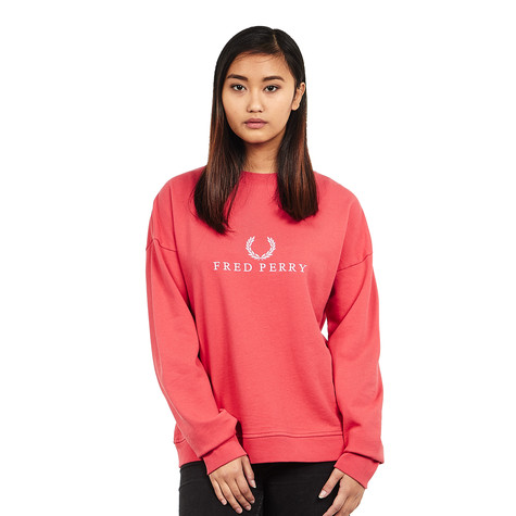 Fred Perry - Embroidered Sweatshirt (Chrysanthemum)   HHV bd99d0da8f7f