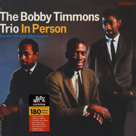Bobby Timmons Trio, The - In Person