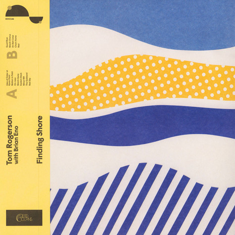 Tom Rogerson with Brian Eno - Finding Shore Colored Vinyl Edition