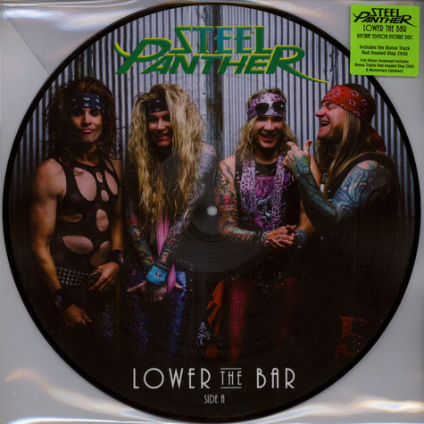 Steel Panther - Lower The Bar [LP] (Bitchin' Edition Picture Disc, download, bonus tracks, limited to 1400, indie
