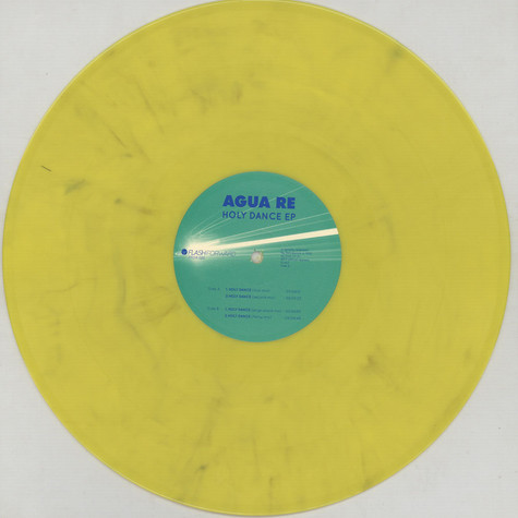 Agua Re - Holy Dance Colored Vinyl Version