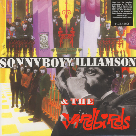 Yardbirds with Sonny Boy Williamson - Yardbirds with Sonny Boy Williamson