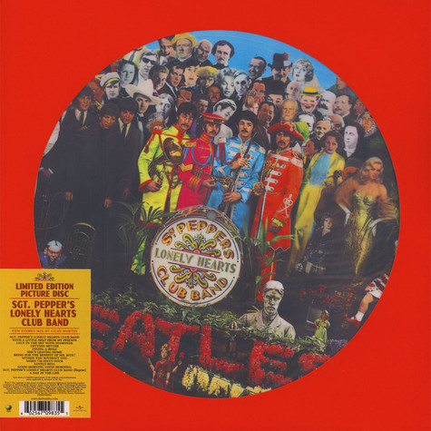 Beatles, The - Sgt. Pepper'S Lonely Hearts Club Band Picture Disc Edition