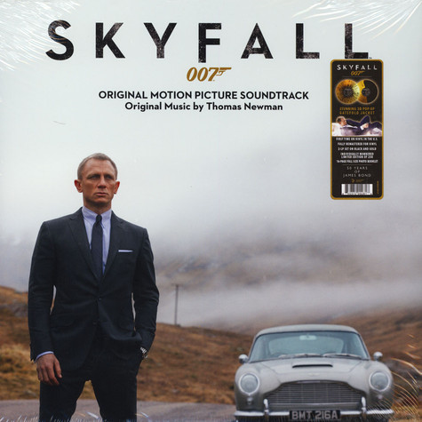 Thomas Newman - OST Skyfall Black & Gold Vinyl 3D Pop-Up Gatefold Sleeve Edition