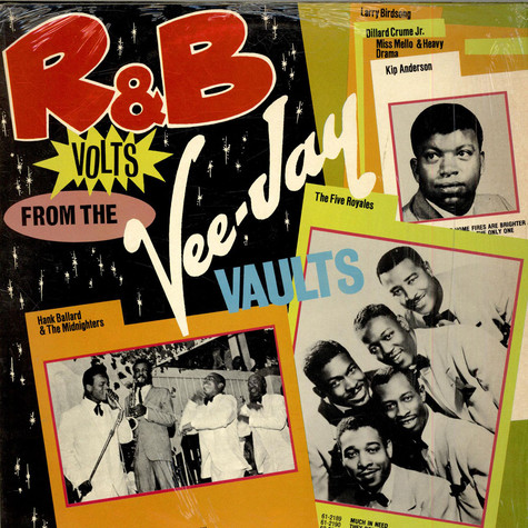 V.A. - R&B Volts From The Vee-Jay Vaults