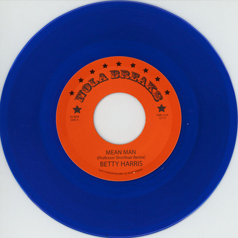 Professor Shorthair / The Allergies - NOLA Breaks Volume 5 Blue Vinyl Edition