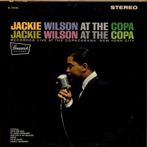Jackie Wilson - At The Copa