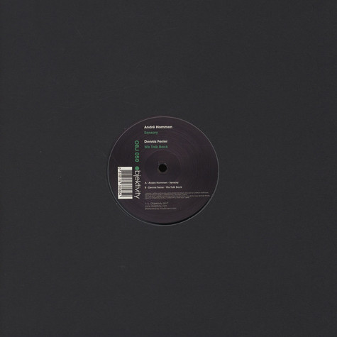 Andre Hommen & Dennis Ferrer - Sensory / We Talk Back