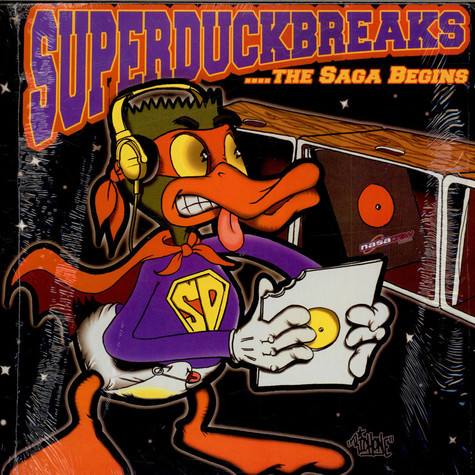 Turntablist, The - Super Duck Breaks ...The Saga Begins