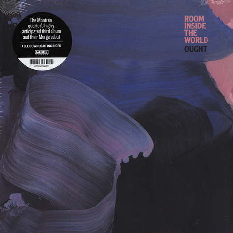 Ought - Room Inside The World Black Vinyl Edition