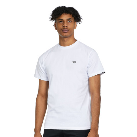 d6e187c0f3fd08 Vans - Left Chest Logo Tee (White / Black) | HHV