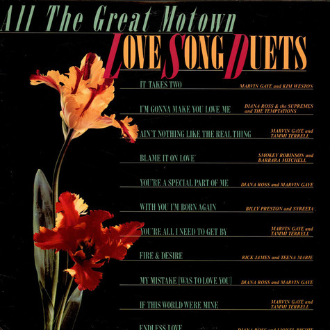 V.A. - All The Great Motown Love Song Duets