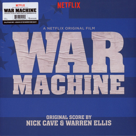 Nick Cave & Warren Ellis - OST War Machine (A Netflix Original Film Soundtrack)