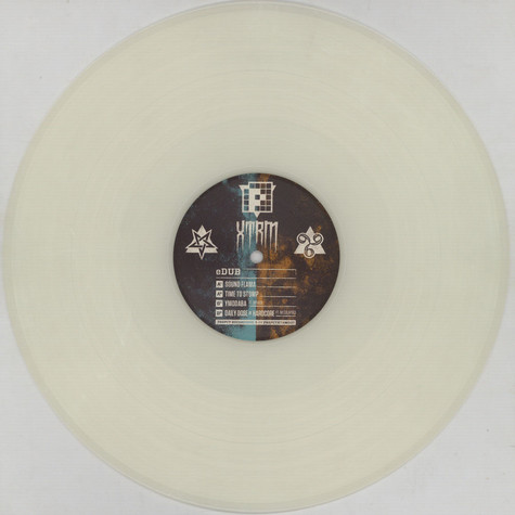 eDub - Time To Stomp EP White & Transparent Vinyl Edition