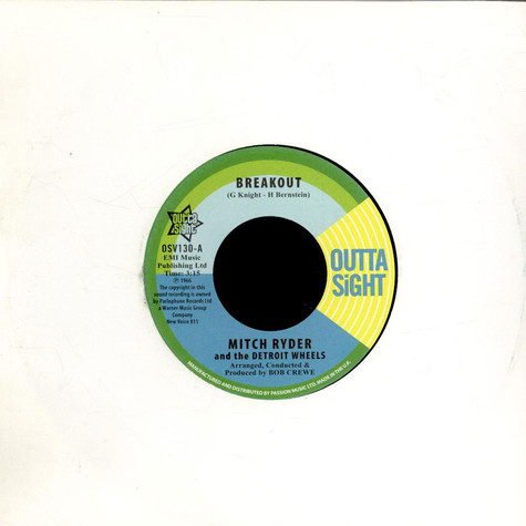Mitch Ryder & The Detroit Wheels - Breakout / You Get Your Kicks