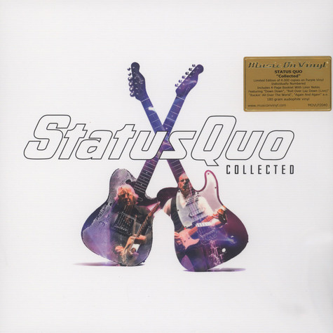 Status Quo - Collected Purple Vinyl Edition
