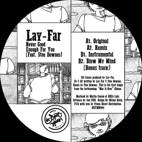 Lay-Far - Never Good Enough For You