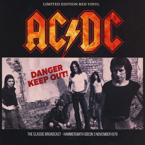 AC/DC - Danger - Keep Out!  Red Vinyl Edition