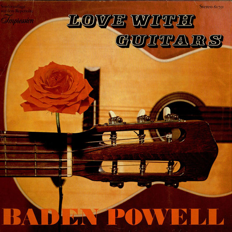 Baden Powell - Love With Guitars