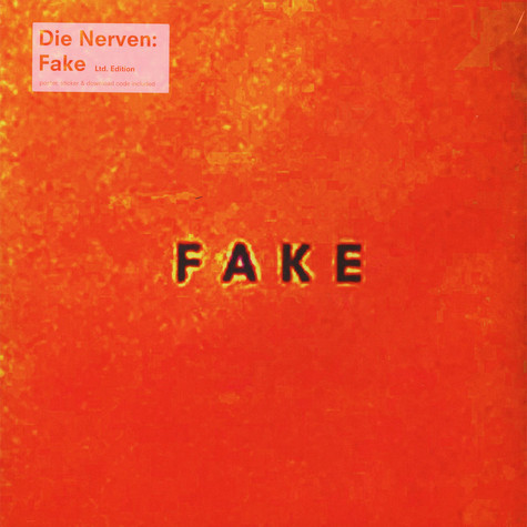 Nerven, Die - Fake Limited Multi-Colored Vinyl Edition