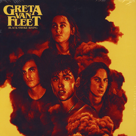 Greta Van Fleet Black Smoke Rising Vinyl 12 Quot 2018