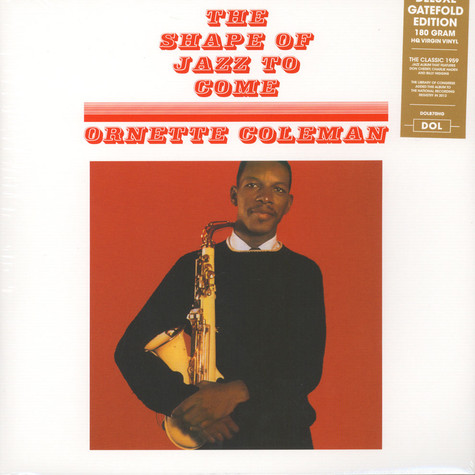 Ornette Coleman - The Shape Of Jazz To Come Gatefold Sleeve Edition