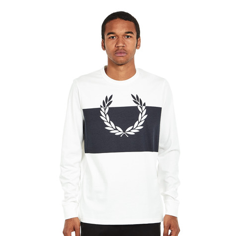 Fred Perry - Blocked Laurel Wreath Shirt