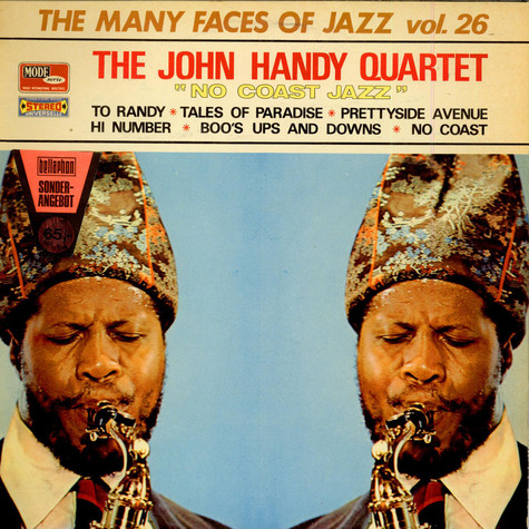 John Handy Quartet - No Coast Jazz