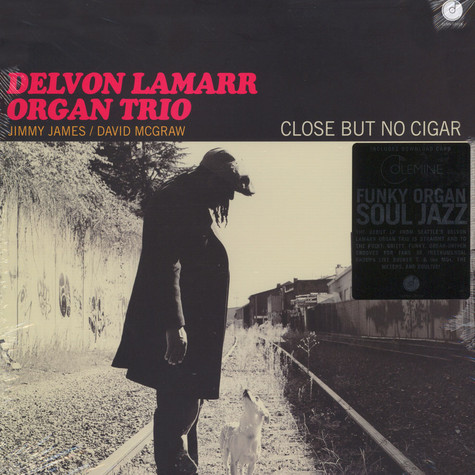 Delvon Lamarr Organ Trio - Close But No Cigar Black Vinyl Edition