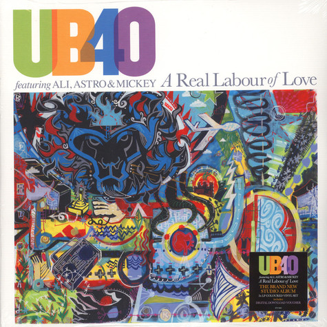 UB40 & Ali, Astro & Mickey - A Real Labour Of Love Colored Vinyl Edition