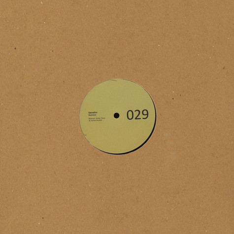 Aiken - Genetics Remixes Blawan, Volte-Face & James Ruskin