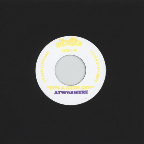 Atwashere meets Downslow - It's A New Jay / At A New Way Standard Edition