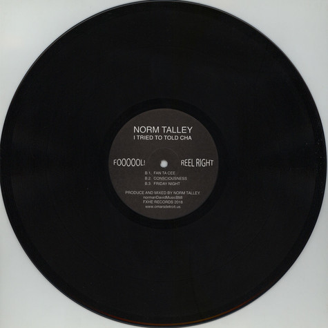 Norm Talley - I Tried To Told Cha