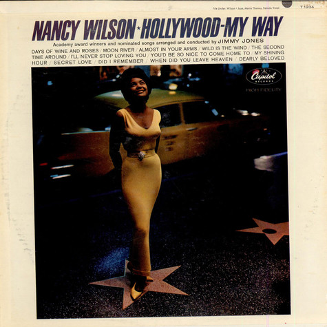 Nancy Wilson - Hollywood My Way