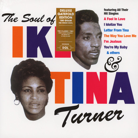 Ike & Tina Turner - The Soul Of Ike & Tina Turner Gatefold Sleeve Edition