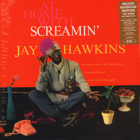 Screamin' Jay Hawkins - At Home With Screamin' Jay Hawkins Gatefold Sleeve Edition