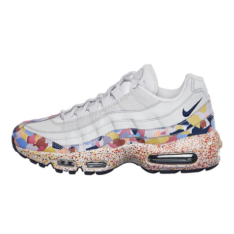 ceeb97208a Nike - WMNS Air Max 95 SE (Vast Grey / Midnight Navy / Habanero Red ...