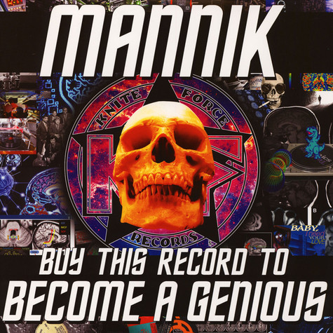 Mannik - Buy This Record To Become A Genious EP