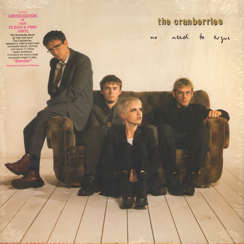 Cranberries, The - No Need To Argue Clear & Pink Vinyl Edition