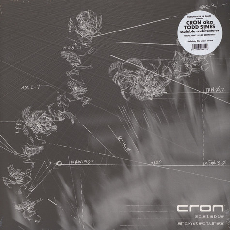Cron (Todd Sines) - Scalable Architectures Black Vinyl Edition