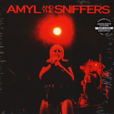 Amyl And The Sniffers - Big Attraction & Giddy Up Black & Blue Vinyl Edition