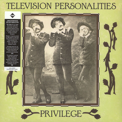 Television Personalities - Privilege Marble Vinyl Edition