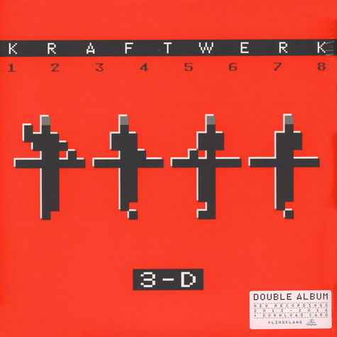 Kraftwerk - 3-D The Catalogue English Version