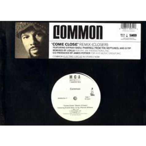 Common Featuring Erykah BaduPharrell Williams And Q-Tip - Come Close (Remix) (Closer)