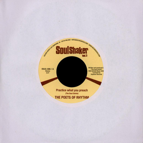 Poets Of Rhythm, The / Phat Fred - Soulshaker Vol. 3