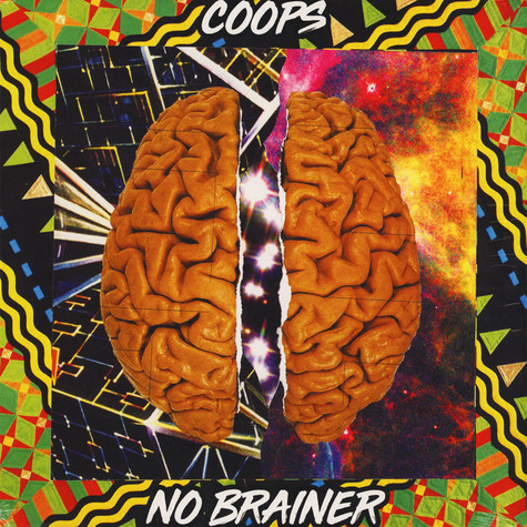 Coops - No Brainer Yellow Marbled Vinyl Edition