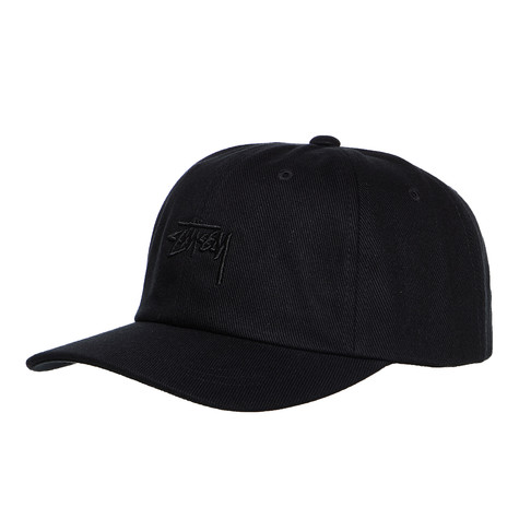 42a2c17a13d Stüssy - Stock Big Twill Low Pro Cap (Black)